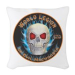 Legion of Evil Machinists Woven Throw Pillow