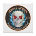 Legion of Evil Machinists Tile Coaster