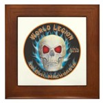 Legion of Evil Machinists Framed Tile