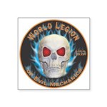 Legion of Evil Mechanics Square Sticker 3