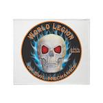 Legion of Evil Mechanics Throw Blanket