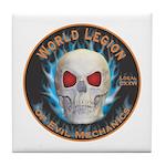Legion of Evil Mechanics Tile Coaster
