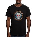 Legion of Evil Mechanics Men's Fitted T-Shirt (dar