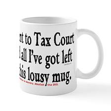 Tax Court Mug