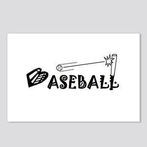 BASEBALL Pictograph Postcards (Package of 8)