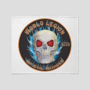 Legion of Evil Nurses Throw Blanket
