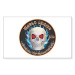 Legion of Evil Optometrists Sticker (Rectangle 10
