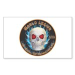 Legion of Evil Optometrists Sticker (Rectangle 50