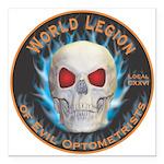 Legion of Evil Optometrists Square Car Magnet 3