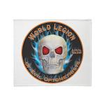 Legion of Evil Optometrists Throw Blanket