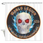 Legion of Evil Optometrists Shower Curtain