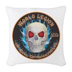 Legion of Evil Optometrists Woven Throw Pillow