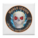 Legion of Evil Optometrists Tile Coaster
