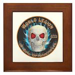 Legion of Evil Optometrists Framed Tile
