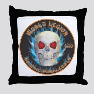 Legion of Evil Paralegals Throw Pillow
