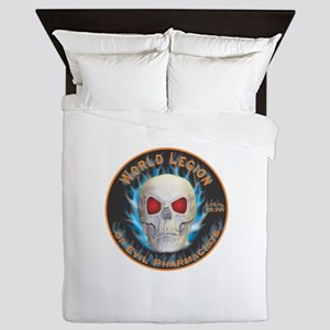 Legion of Evil Pharmacists Queen Duvet