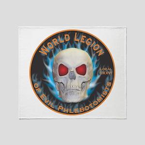 Legion of Evil Phlebotomists Throw Blanket