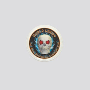 Legion of Evil Physical Therapists Mini Button