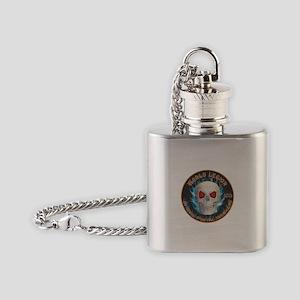 Legion of Evil Postal Workers Flask Necklace