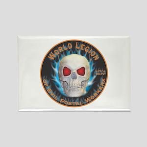 Legion of Evil Postal Workers Rectangle Magnet