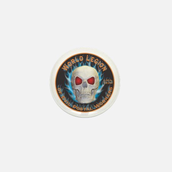 Legion of Evil Postal Workers Mini Button