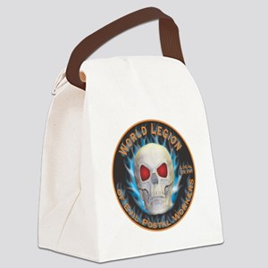 Legion of Evil Postal Workers Canvas Lunch Bag