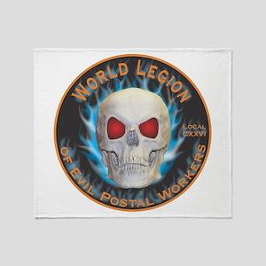 Legion of Evil Postal Workers Throw Blanket