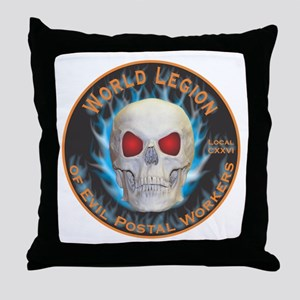 Legion of Evil Postal Workers Throw Pillow