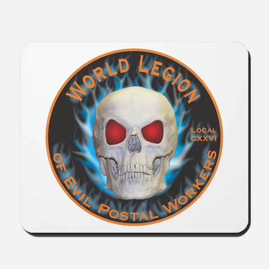 Legion of Evil Postal Workers Mousepad