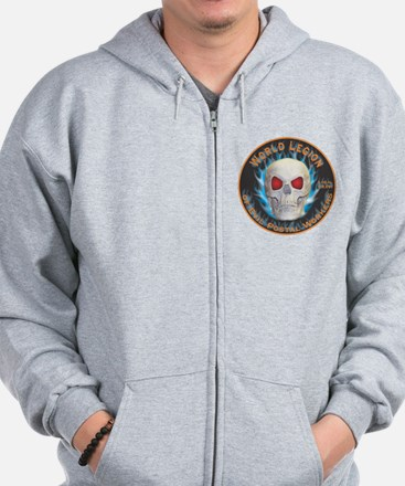 Legion of Evil Postal Workers Zip Hoodie
