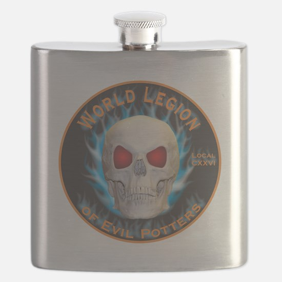 Legion of Evil Potters Flask