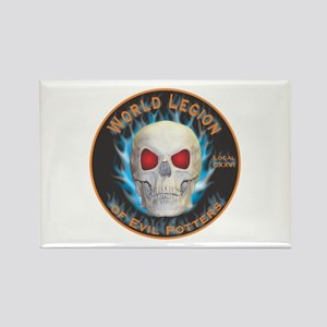 Legion of Evil Potters Rectangle Magnet