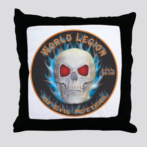 Legion of Evil Potters Throw Pillow