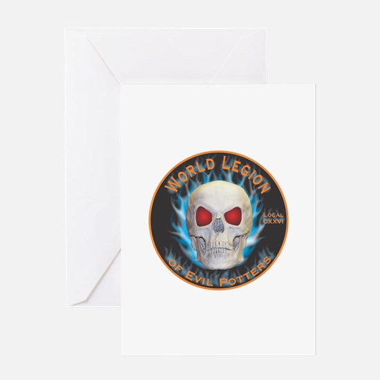 Legion of Evil Potters Greeting Card