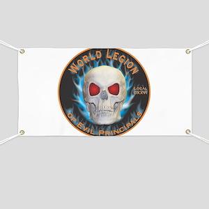 Legion of Evil Principals Banner