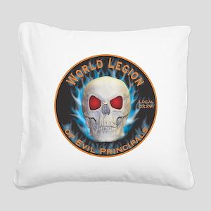 Legion of Evil Principals Square Canvas Pillow