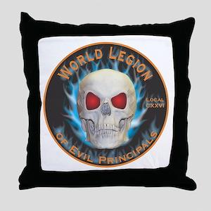 Legion of Evil Principals Throw Pillow