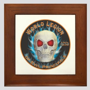 Legion of Evil Principals Framed Tile
