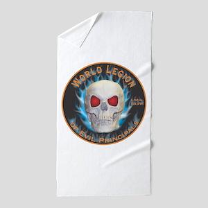 Legion of Evil Principals Beach Towel