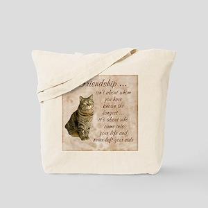 Friendship - Cat Tote Bag