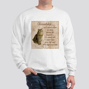 Friendship - Cat Sweatshirt