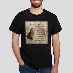Friendship - Cat Dark T-Shirt