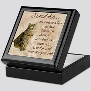 Friendship - Cat Keepsake Box