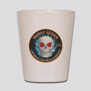Legion of Evil Receptionists Shot Glass
