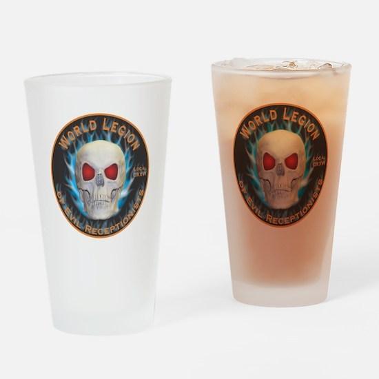 Legion of Evil Receptionists Drinking Glass