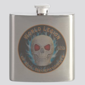 Legion of Evil Receptionists Flask