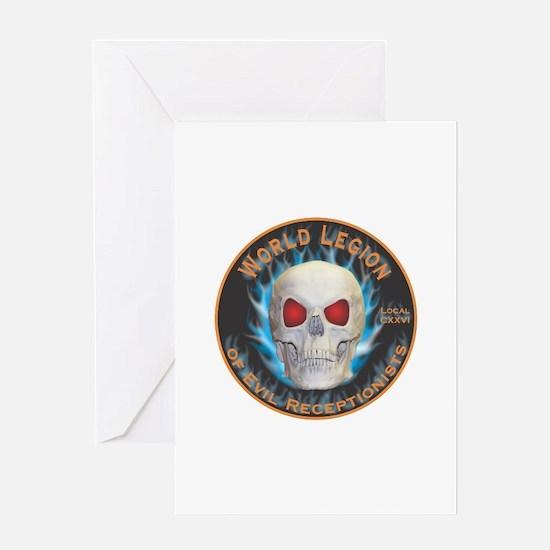Legion of Evil Receptionists Greeting Card