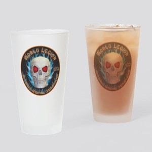 Legion of Evil Social Workers Drinking Glass