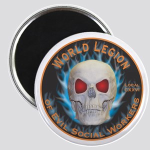 Legion of Evil Social Workers Magnet