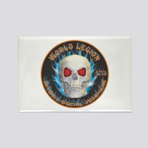 Legion of Evil Social Workers Rectangle Magnet